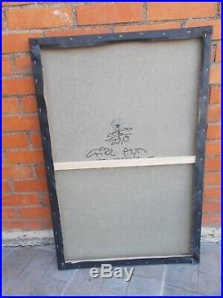 Peinture Originale sur Toile de Marek Braun, Street Art Graffiti