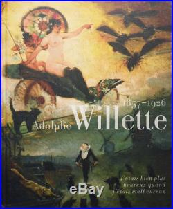Peinture de Adolphe WILLETTE (1857-1926) pour l'Hotel de Ville de Paris 1909