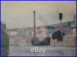 Peinture impressionniste signée M. SIMON peut-être Michel SIMONIDY (1870-1933)