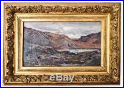 Peinture par Benoît Émile NOIROT (1853 1924) Paysage de la Loire