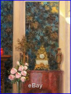Prosper Louis VAGNIER, tableau, peinture, intérieur, France, Rieder, Enjolras