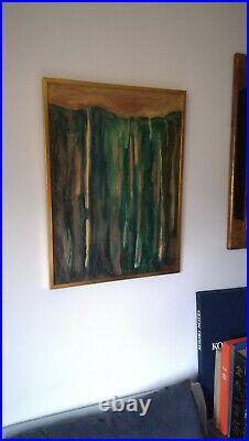 ROBERT HELMAN, Huile sur toile, série des génèses