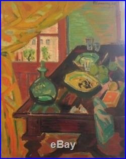 R. Limouse. Huile sur toile. Datée 1948. V 452