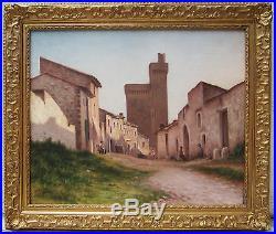 Raymond Guerci Peintre Albi Tableau Paysage Villeneuve Les Avignon France Art