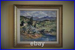 Robert Falcucci (1900-1989), Paysage de Haute Corse