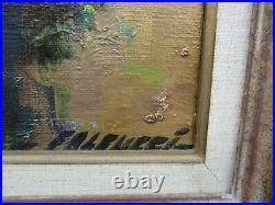 Robert Falcucci Christ tableau peinture huile toile originale Falcucci signe