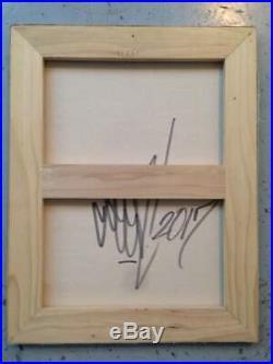 SEEN graffiti signé sur toile et châssis- cope2/futura/taki/quik/dondi/rd357