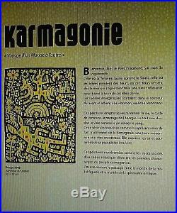 SPEEDY GRAPHITO Acrylique sur toile AU COEUR DE LA VIE série karmagonies 2006
