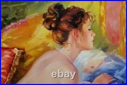 Skribins Tableau Peinture Huile Sur Toile 20m, 73x50