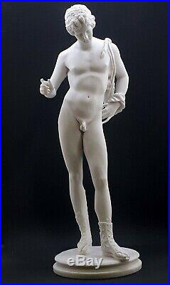Statue homme nu Adonis replique