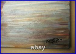 Superbe huile sur toile de PAUL BOUTRY