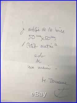 TABLEAU PETIT MATIN Michel Jouenne