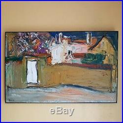 TABLEAU PUTOV RUSSIAN ART 58/91cm Vezelay, artprice, artnet, akoun 1990
