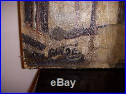 Tableau Peinture Sur Toile Geo Conde Nancy