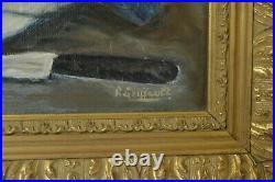 Tableau Peinture à l'huile nature morte poisson