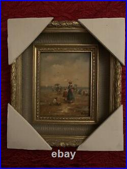 Tableau Peinture huile sur toile signé