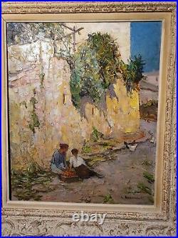Tableau Provençal Louis Bonamici