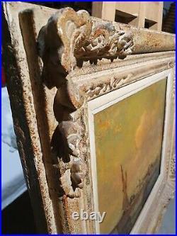 Tableau Provençal Louis Bonamici Pecheurs Tartane Saint Tropez