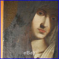 Tableau Vierge Ecole italienne XVII Sassoferrato Peinture Painting Pittura Huile