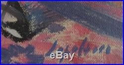 Tableau femme modèle peinture Robert LEPELTIER huile sur toile nu