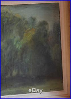 Tableau, huile sur toile Arbre du chemin du Mirril signé SCHINTONE (1927-2015)