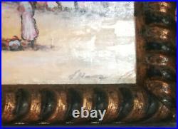 Tableau huile sur toile orientaliste