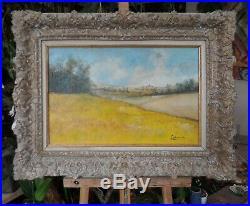 Tableau huile /toile paysage signée Laborde
