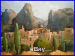 Tableau provençal peinture Moustiers Sainte Marie Alpes Haute Provence France