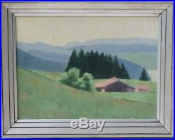 Tableaux Jeanne Laresche Jura Franche Comté vers 1930