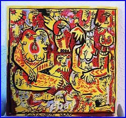 Toile, street art, Art singulier, figuration libre, Outsiders Art, Kabian