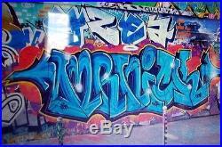 Urban Art Graffiti / Peinture Originale de Nickos TFB Feat Heckle & Jeckle