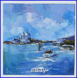 Venise Tableau Peinture Huile Sur Toile Artiste Peintre Kleiner ...