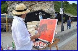 Venise Tableau Peinture Huile Sur Toile Artiste Peintre Kleiner Oeuvre Originale