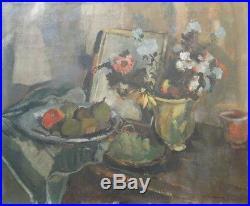 Willy Eisenschitz (1889-1974) Huile sur toile signée et daté Nature Morte