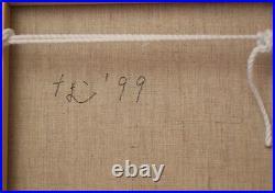 Yoshitomo Nara Michi Pop Art digital pigment/toile signé daté 99 au dos